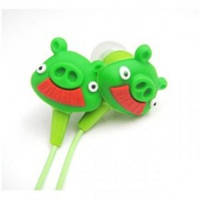 Навушники Angry Birds In-Ear Зелені