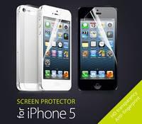 Защитная плёнка для для iPhone 5 Глянцевая Двусторонняя Screen Ward (ком-кт 4 in 1)