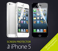 Защитная плёнка для для iPhone 5 Матовая Двусторонняя Screen Ward (ком-кт 4 in 1)