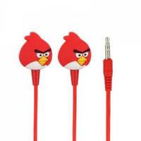 Наушники Angry Birds In-Ear Красные