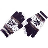 Перчатки сенсорные Снежинка