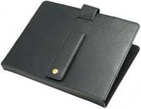 """Обкладинка-Чохол для планшета 7,85"""" Luxpad™ TL-372 прес-Шкіра, колір: чорний (вн: чорний), розмір: 210*145*20мм, кріплення в петлю, ніжка на магніті,"""