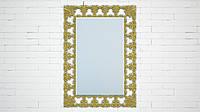 """Эксклюзивные зеркала в рамах из искусственного мрамора. Модель """"Zeon"""", цвет """"Glitter Gold"""""""