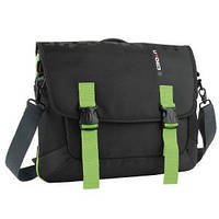 "Сумка для ноутбука CROWN CMCCH-3315BBG (Harmony Series) black and green 15,6"""