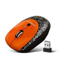 Беспроводная мышь CROWN CMM-919W (orange/black)