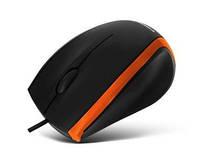 Компьютерная мышь CMM-009 black/orange