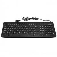 Проводная силиконовая  клавиатура CROWN CMK-6002 Silicon Keybord
