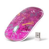 Беспроводная мышь CROWN CMM-924W (pink)