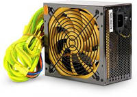 Блок живлення CROWN CM-PS500W (20+4in, 140mm FAN, SATA*4, PATA(big Molex)*4, FDD*1, 4+4pin, 6 pin PCI-E*1,