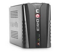 Источник бесперебойного питания CROWN CMU-USB650VA    (650VA/360W, AVR 145-280V, 2*12V/9AH, USB)