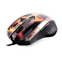 Компьютерная мышь CROWN CMXG-607 (fire)