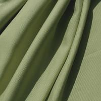 Ткань для штор хлопковая ОЛИВКА