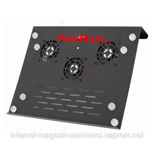 Подставка кулер для ноутбука металл + скоростной USB HUB на 4порта