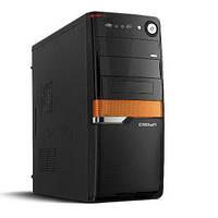 Компьютерный корпус CROWN CMC-SM160 BlackOrange - Серия Smart с блоком питания 500W Smart