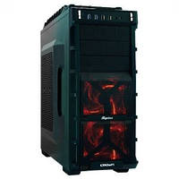 Корпус Bigtower CROWN CMC-GS777 black ATX w/o ps + USB 3.0