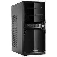 Корпус Miditower CROWN CMC-SM600 black/silver ATX (CM-PS500w smart)