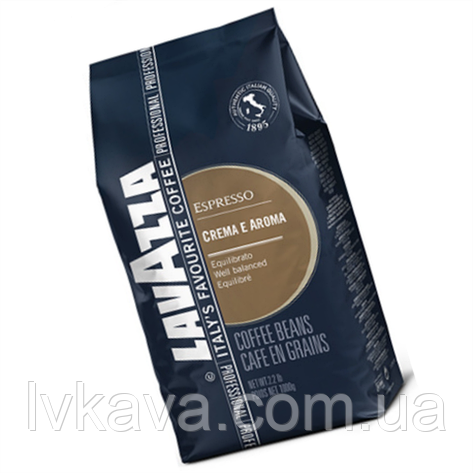 Кофе в зернах  Lavazza Crema e Aroma Espresso ,  1 кг, фото 2