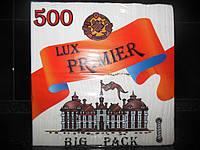 Салфетка барная Примьер 500 листов,бумажная салфетка