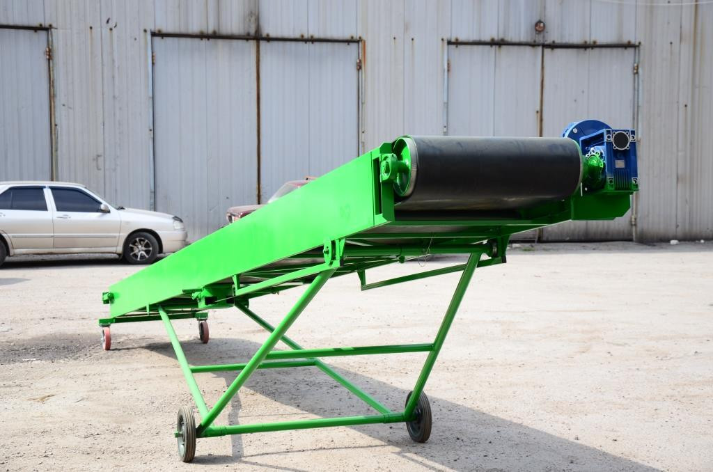 Ленточные транспортеры для погрузки мешков транспортеры наклонного типа