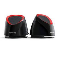 Акустична система 2.0 CROWN CMS-279 Black and red