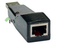 СЕТЕВОЕ:USB: Сетевая плата @LUX USB->LAN RJ-45