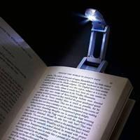 Подсветка-зажим для чтения книг Super Bright