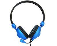 Гарнитура CROWN CMH-942 blue PC Headset