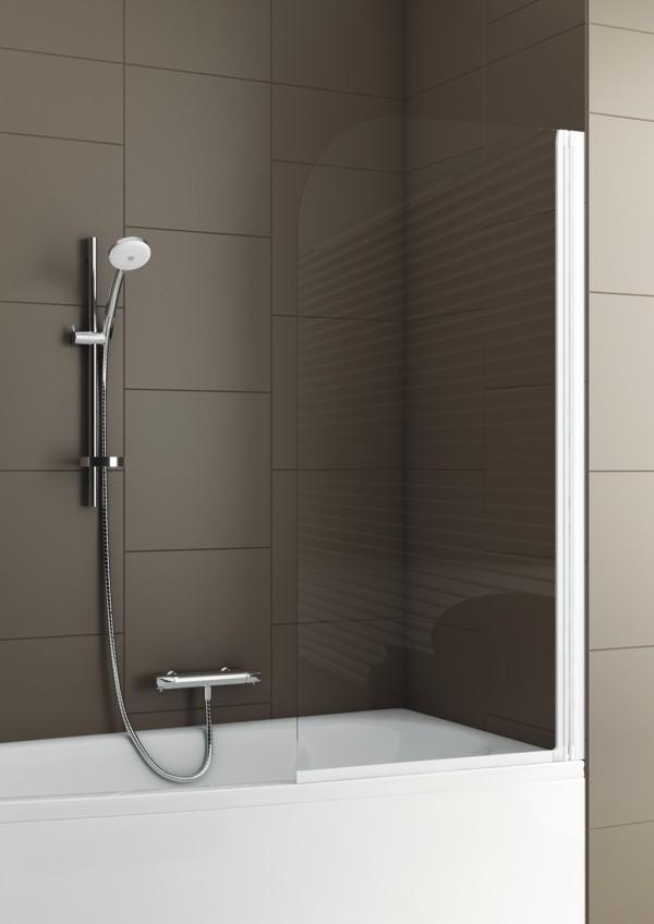 Шторка для ванн Aquaform MODERN-1 67х140 профиль матовый хром 170-06954