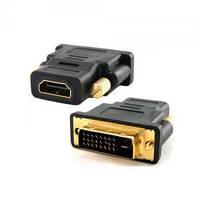 Переходник DVI-I-HDMI VC-004G Gold Plated