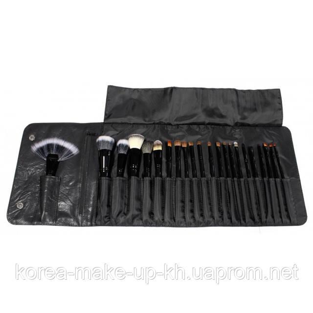 Набор кистей в чехле 22 шт.Coastal Scents Professional Cosmetic Brushes
