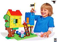 Конструктор Свинка Peppa домик на дереве 75 деталей Big 57077