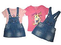 Комплект-двойка для девочки, F&D, размеры 1,2,3,4,5 лет, арт.9306