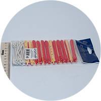Бигуди для холодной завивки Comair, коклюшки 95 мм Ø 9 мм 12 шт, фото 1