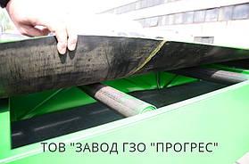 Конвейерная лента трехслойная (толщина 7мм), ролики диаметром 57мм.