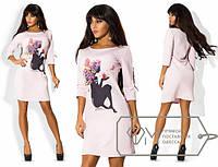 Платье весеннее 676 (704)