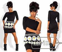 Платье с ромашками 676 (702)