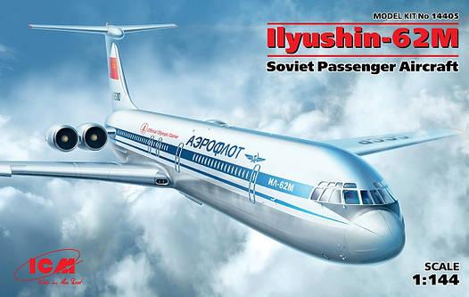 Пассажирский самолет Ил-62М2 1/144