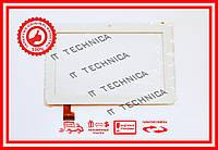 Тачскрин 180x118mm 30pin TPC0509 БЕЛЫЙ