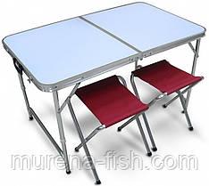 Кемпинговый набор складной стол + 4 стула (APIS)