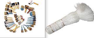 Малярные кисти и щетки для побелки