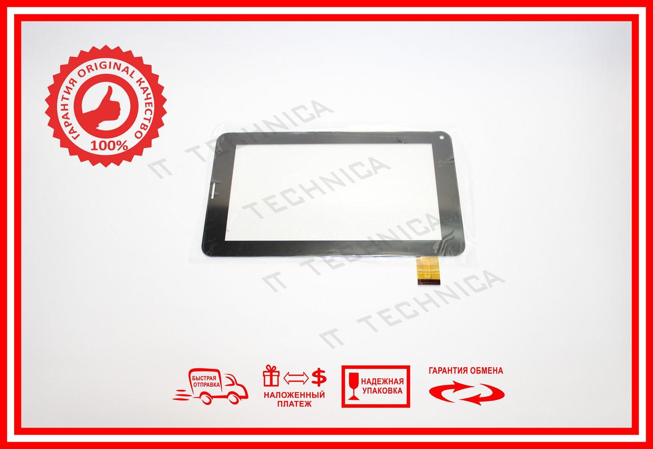 Тачскрін 186x111mm 30pin LS-FPC0700MG93C Чорний