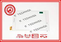 Тачскрин 214x122mm 6pin FPC.0800-0363-D БЕЛЫЙ 3G