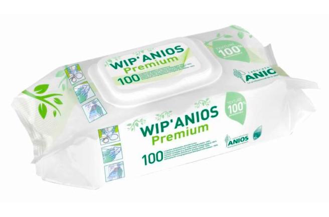 Вип аниос премиум салфетки, не содержат спирта (100 шт./уп.)