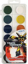 Краска акварельная Transformers, 12 цветов, ТМ Kite