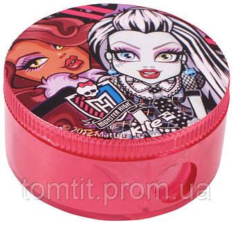 """Точилка круглая, с контейнером """"Monster High"""", фото 2"""