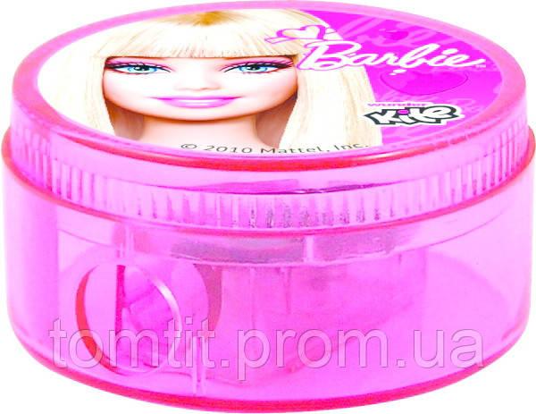 """Точилка круглая, с контейнером """"Barbie"""""""