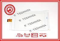 Тачскрин 184x104mm 30pin ZYD070-78-1 V1.0 БЕЛЫЙ