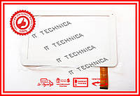 Тачскрин 257x160mm 40pin DH-1010A1-FPC042 БЕЛЫЙ