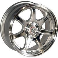 Автомобильный диск, литой Zorat Wheels 356 R15 W6.5 PCD4x100 ET38 DIA67.1