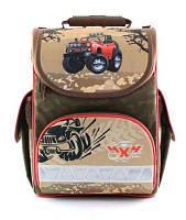 Ортопедический ранец для мальчика Zibi 4х4